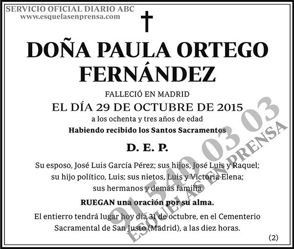 Paula Ortego Fernández